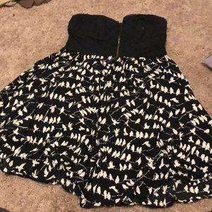Corset bird dress